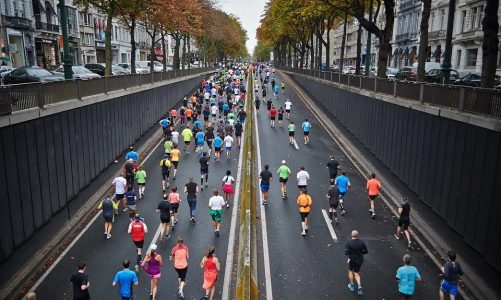 A short history of running on the roads